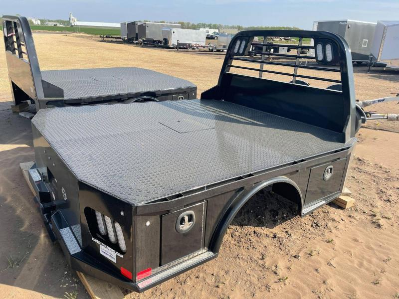 2021 CM Truck Beds SK STEEL UTILITY BODY 8'6/97/58/42 Truck Bed