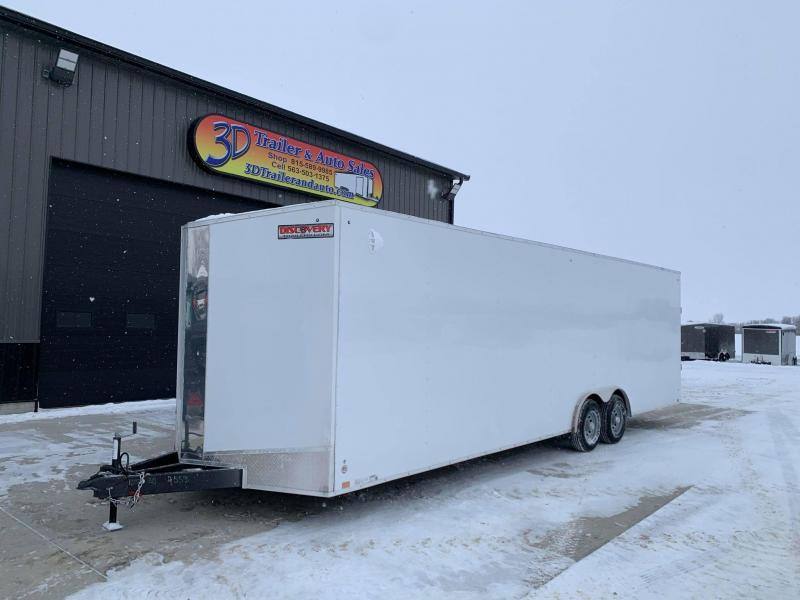 2021 Discovery 8.5' X 28' X 7' 7K CHALLENGER ET RAMP DOOR ENCLOSED CARGO TRAILER