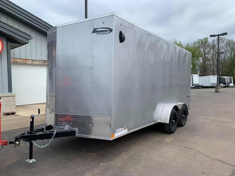 2021 Formula Trailers 7' X 14' X 7' Traverse Enclosed Cargo Trailer
