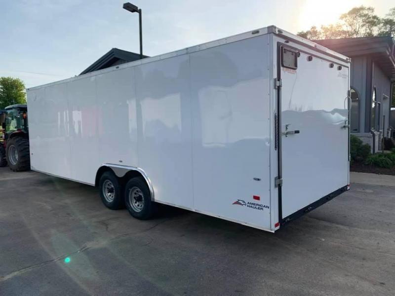 2020 AMERICAN HAULER 8.5' x 24' x 7' NIGHT HAWK 10K GVWR Race Car Enclosed Trailer