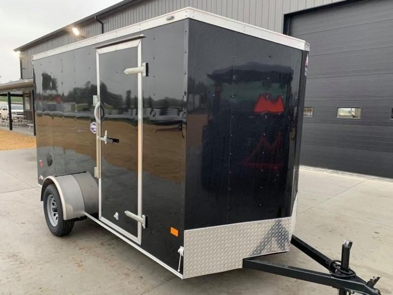2021 American Hauler 6' x 12' x 6'6 Arrow Deluxe Package Enclosed Trailer