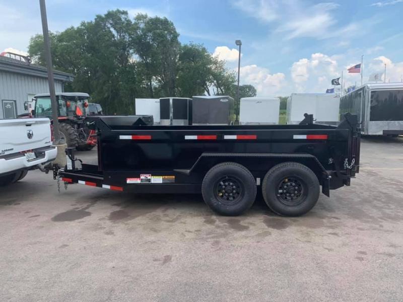 "2020 Travalong 82"" X 12' 14K Commercial Dump Bed Trailer"