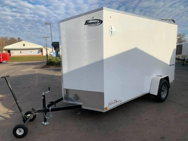 "2020 Formula 6' x 12' x 6'6"" Traverse Enclosed Cargo Trailer"