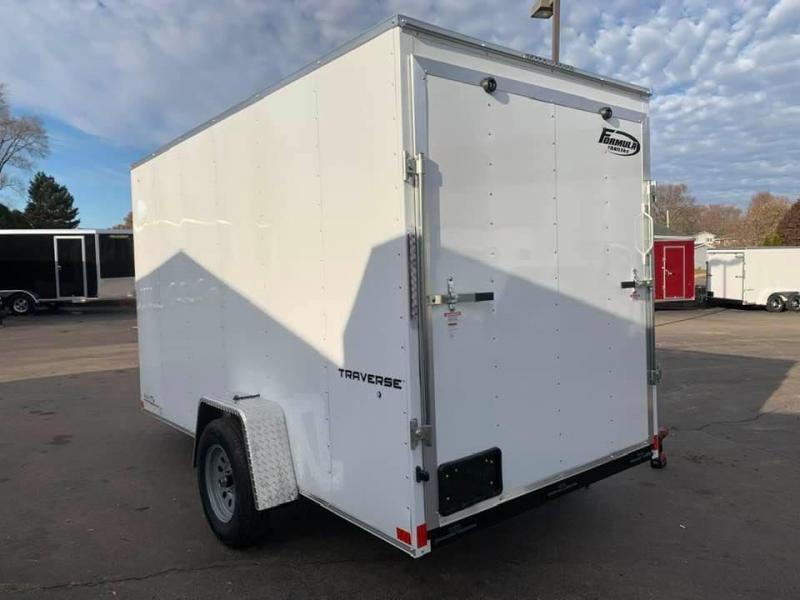 "2020 Formula 6' x 12' x 6'6"" Traverse Enclosed Cargo Trailer"