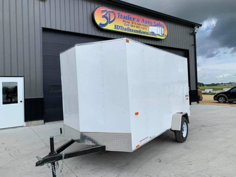 2021 Pace American 6' x 12' x 6' Metro Enclosed Trailer