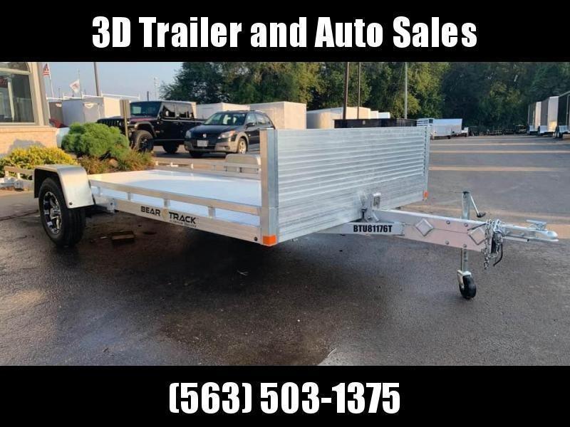 """2020 Bear Track 81""""X14'8"""" Tilt Bed Utility Trailer"""