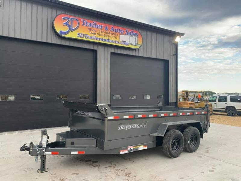 "2021 Travalong 82"" X 14' 14K Commercial Dump Bed Trailer"
