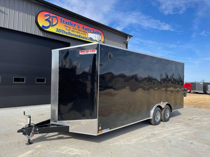 2021 Discovery 8.5' X 20' X 7' 10K CHALLENGER ET RAMP DOOR ENCLOSED CARGO TRAILER