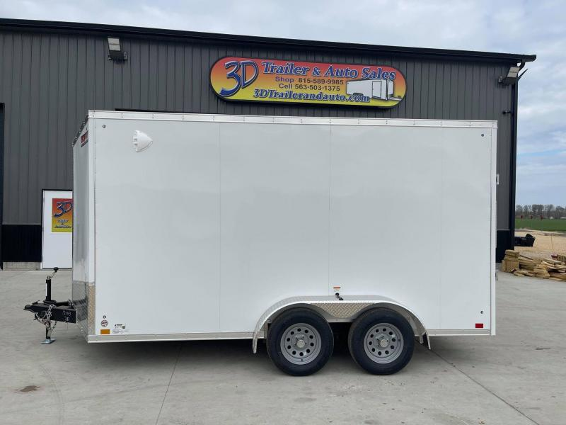 2022 Discovery 7' x 14' x 7' Rover SE Enclosed Cargo Trailer w/ Barn Doors