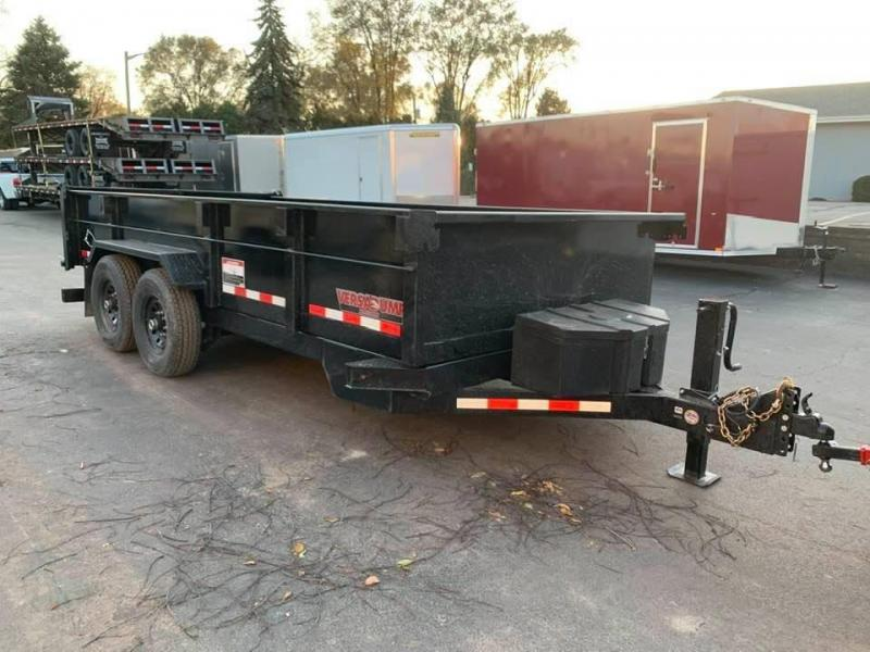 "2020 Midsota HV SERIES 82"" X 14' 15400LB GVWR VERSA DUMP BED TRAILER"