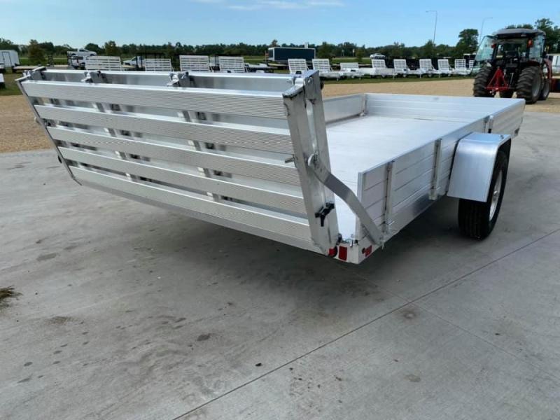 """2022 Aluma 81"""" x 14' SR Bifold Gate Aluminum Open Utility Trailer"""
