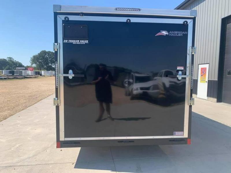 2022 American Hauler 7' x 16' x 6'6 7k Night Hawk UTV PACKAGE Enclosed Trailer