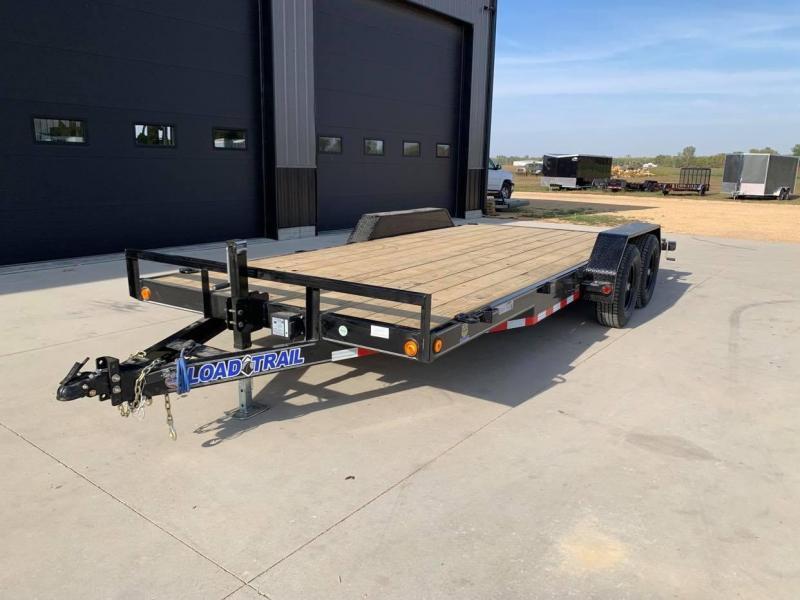 2022 Load Trail 18' 10K Loaded Flatbed Car Trailer