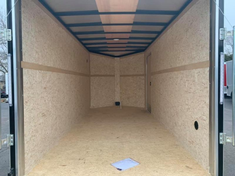 "2021 Pace American 7' x 16' x 6'6"" Cargo Sport Enclosed Trailer"