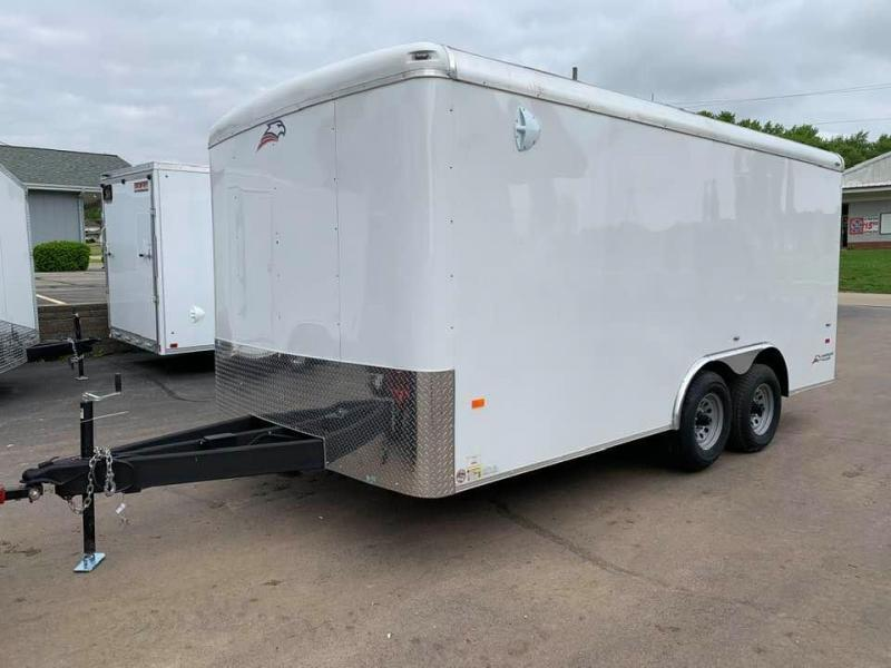 "2020 AMERICAN HAULER 8.5' x 16' x 6'6""' FALCON XC 10K GVWR Enclosed Trailer"