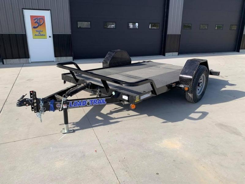 "2022 Load Trail 77"" X 12' 7K Tilt Single Axle Scissor Lift Hauler"