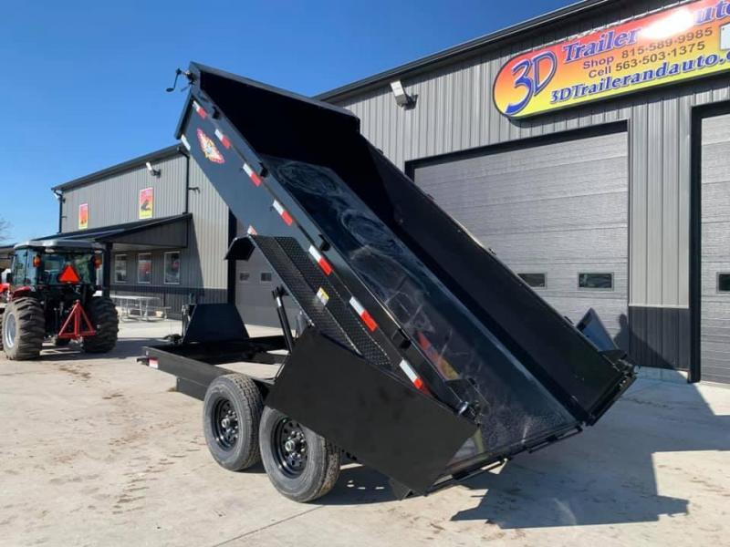 "2021 H & H 83"" x 14' 14k Dump Trailer"