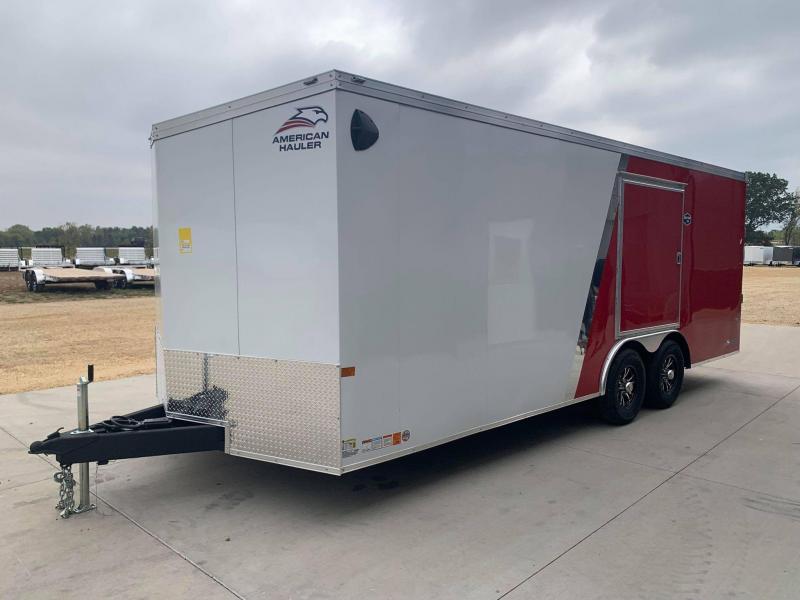 2022 AMERICAN HAULER 8.5' x 20' x 6'6 NIGHT HAWK 10K GVWR Race Car Enclosed Trailer