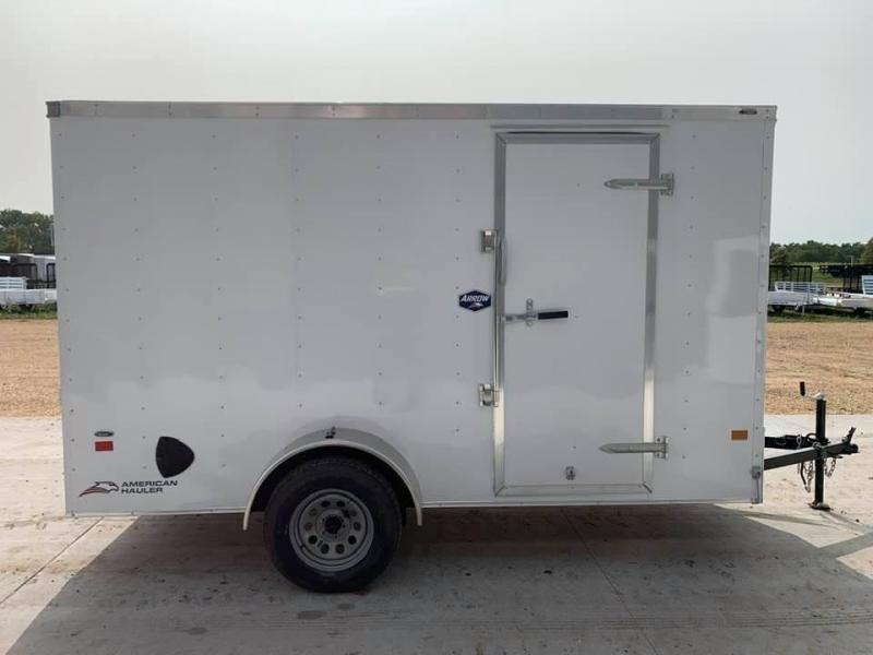 2021 American Hauler 6' x 12' x 6'6 Arrow Deluxe Package Enclosed Trailer