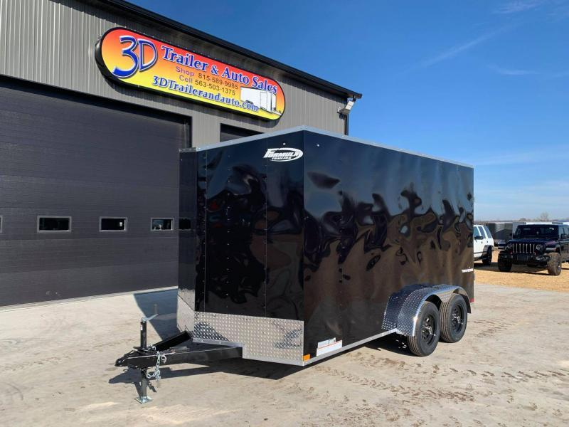 2021 Formula Trailers 7' X 14' X 7' Traverse Enclosed Cargo Trailer