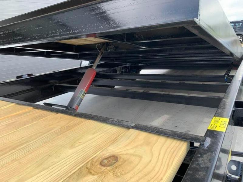 2021 Chase Trailers 22' 10K Split Deck Tilt Bed Equipment Trailer