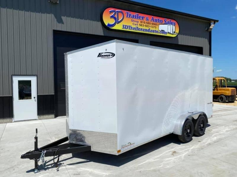 2022 Formula Trailers 7' X 16' X 7' Traverse Enclosed Cargo Trailer