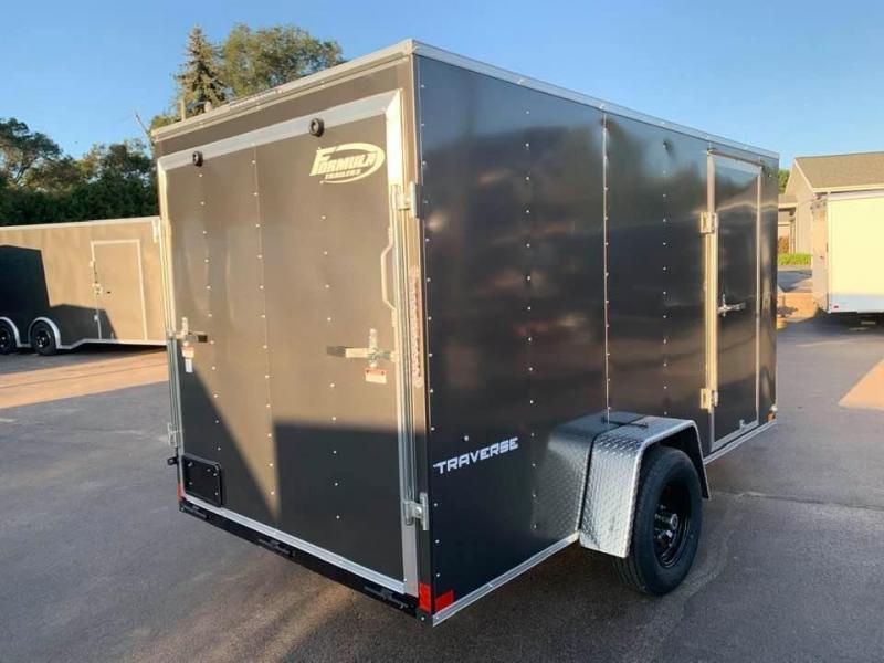 2021 Formula 6' x 12' x 6' Traverse Enclosed Cargo Trailer