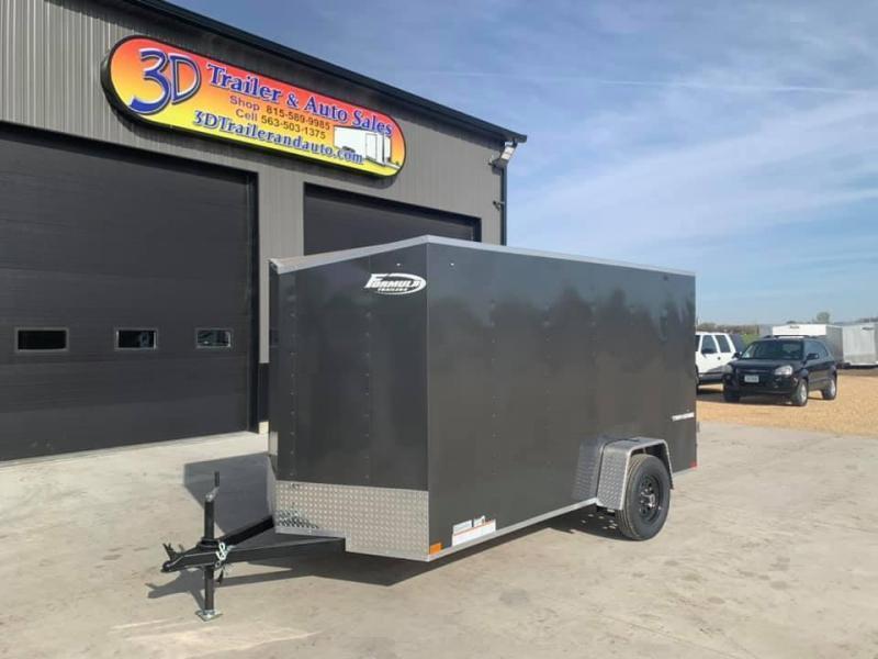 2021 Formula 6' x 12' x 6 Traverse Enclosed Cargo Trailer