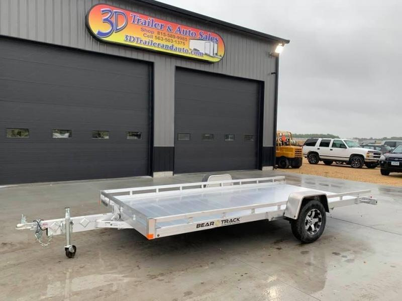 "2021 Bear Track 81""X14'8"" Tilt Bed Utility Trailer"