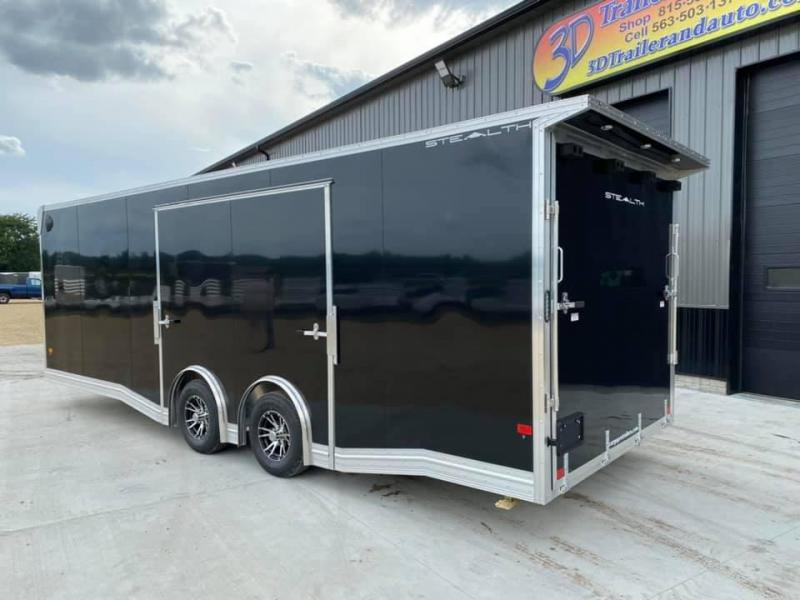2020 Alcom-Stealth 8.5' X 24' X 7' 10K SUPREME CAR HAULER Car / Racing Trailer