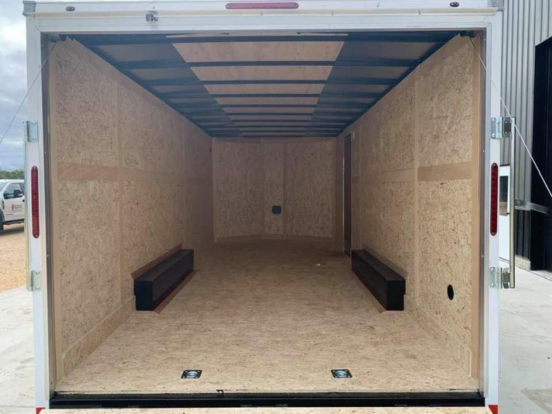 2021 Wells Cargo 8.5' x 20' x 7' Fast Track Deluxe Wedge Front Enclosed Cargo Trailer
