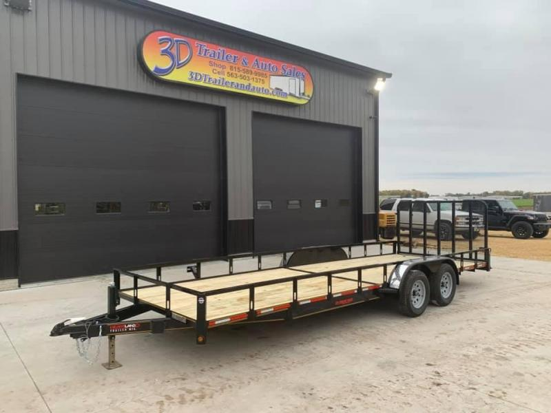 2021 Heartland 7' x 22' w/ 4' HD Spring Assisted Gate