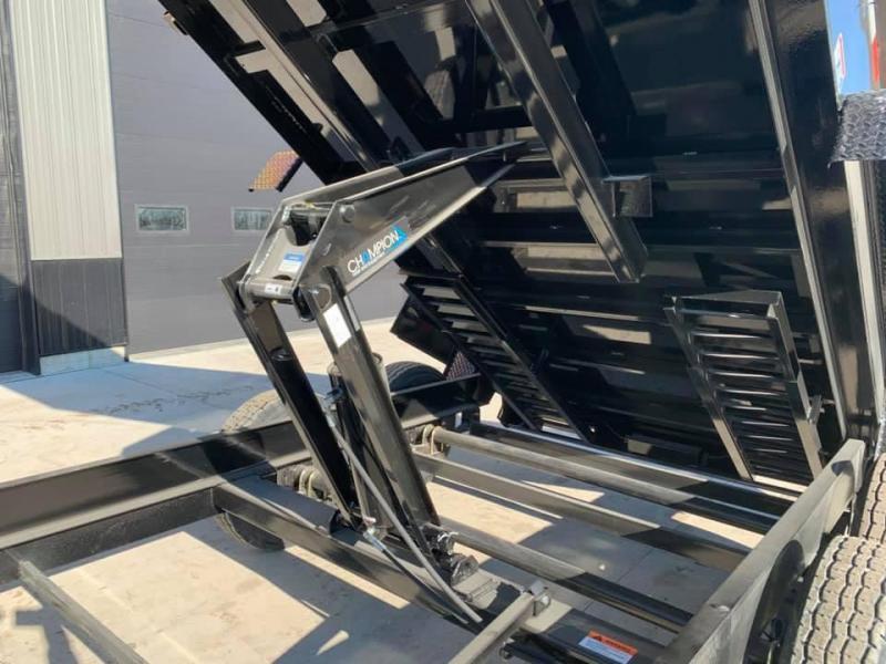"""2021 H & H 83"""" x 16' 14k Dump Trailer w/ 7GA Floor & Hydraulic Jack"""