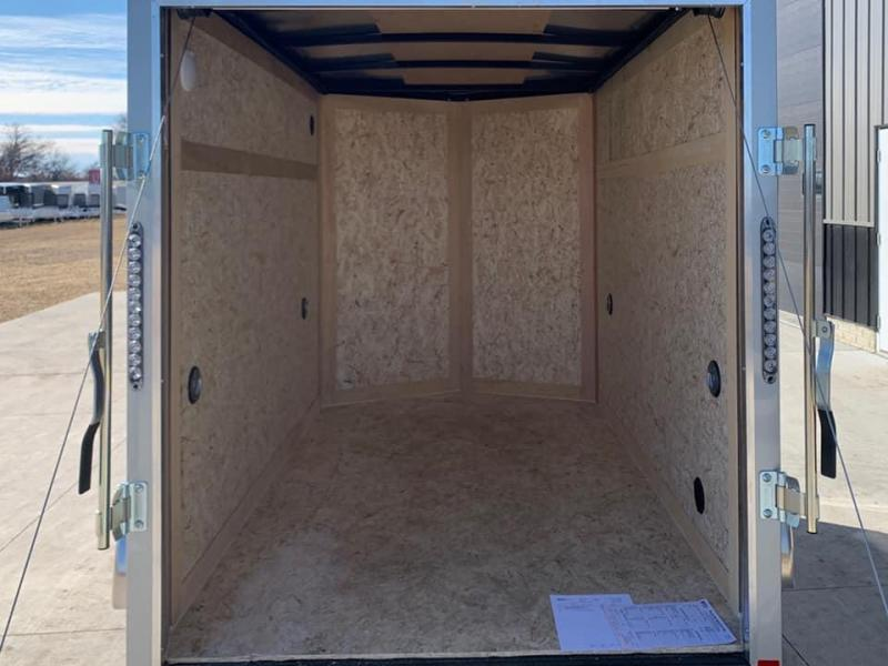 2021 American Hauler 5' x 8' x 5'6 Arrow Deluxe Package Enclosed Trailer