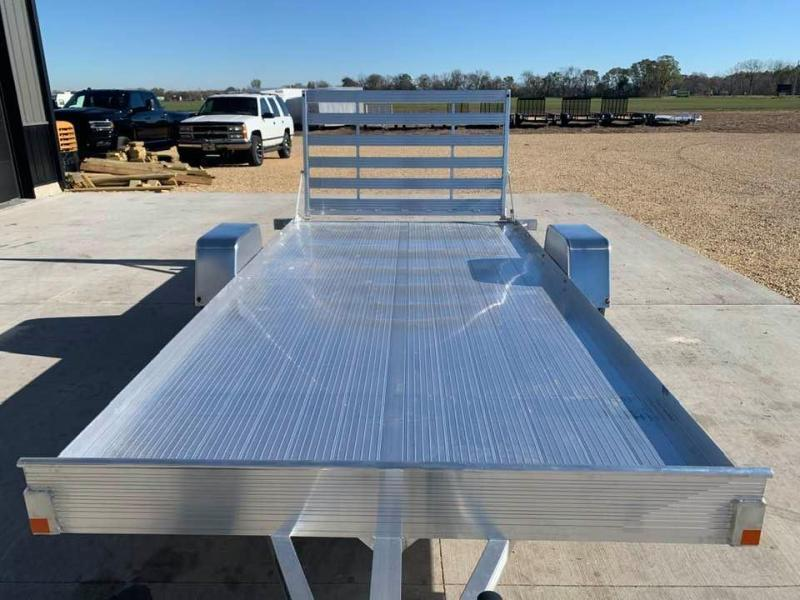2021 Bear Track 80 X 14 All Aluminum Utility Trailer w/ Straight Gate