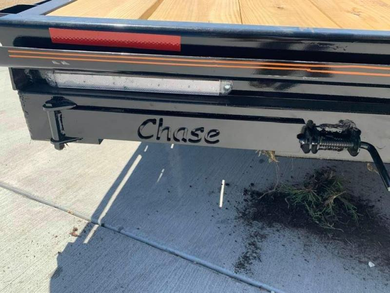 2021 Chase Trailers 18' 7K Loaded Flatbed Car Trailer