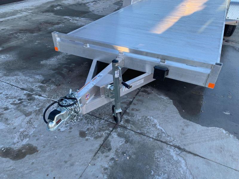 2021 Bear Track 20' 7K GVWR All Aluminum Car / Racing Trailer w/ Slideout Ramps