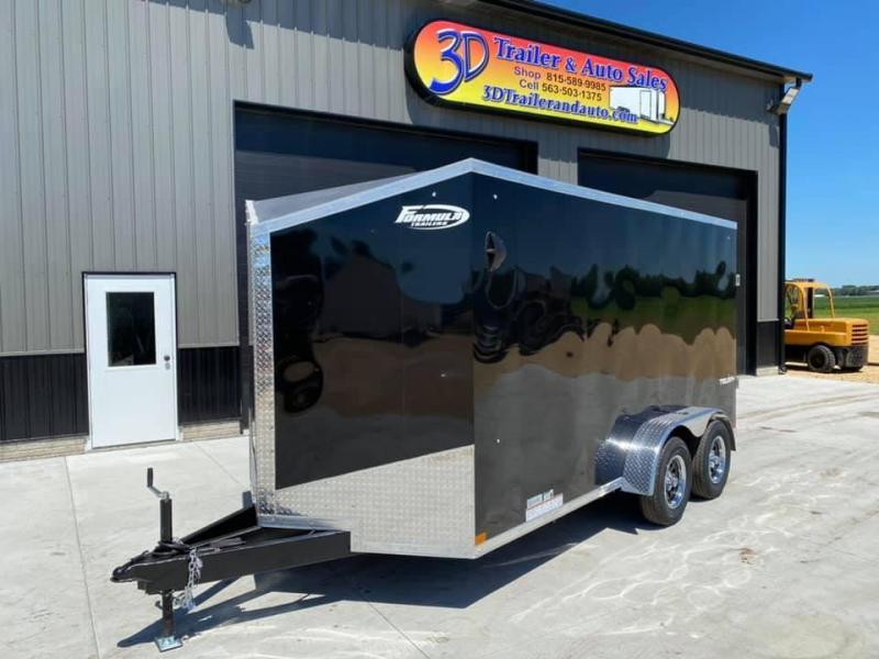 2021 Formula Trailers 7' X 14' X 6'6' Traverse Enclosed Cargo Trailer