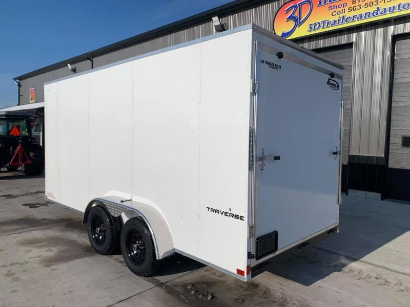 2021 Formula Trailers 7' X 16' X 7' Traverse Enclosed Cargo Trailer