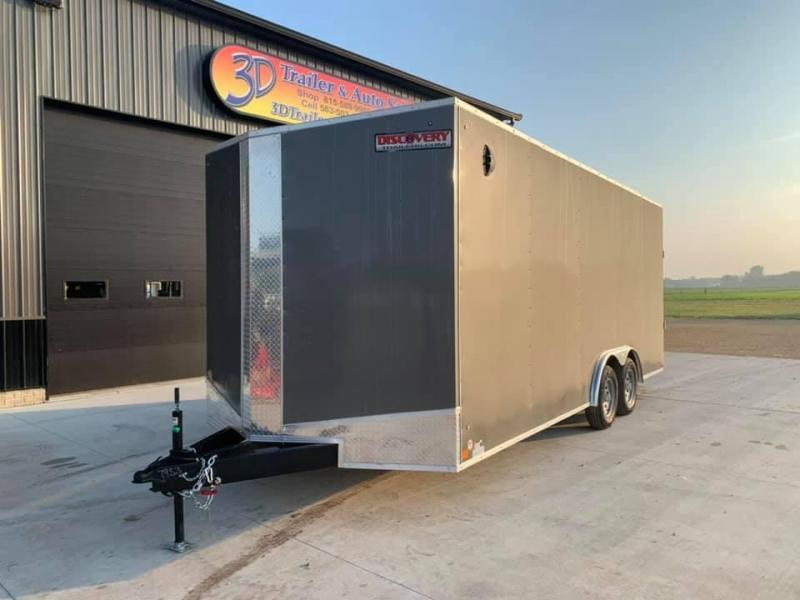 2022 Discovery 8.5' X 20' X 7' 7K CHALLENGER ET RAMP DOOR ENCLOSED CARGO TRAILER