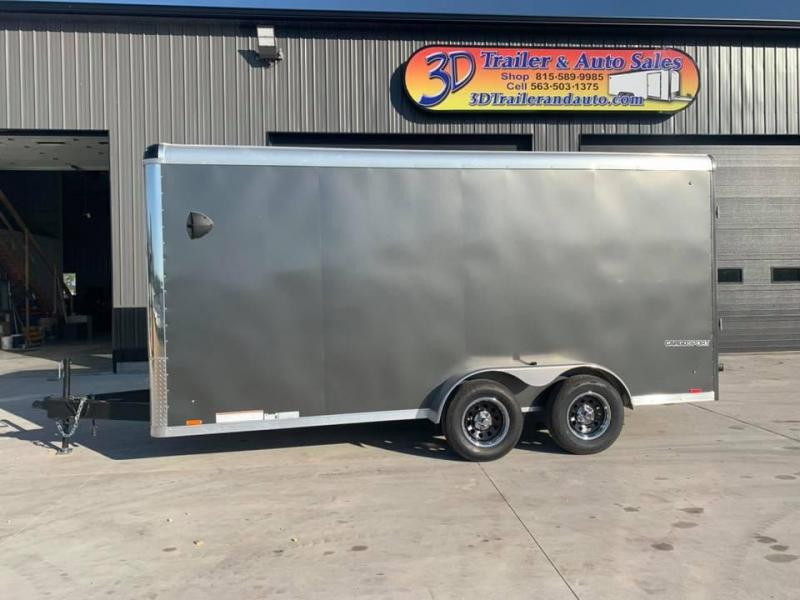 2021 Pace American 7' x 16' x 7' EXTRA TALL Cargo Sport PREMIUM Enclosed Trailer