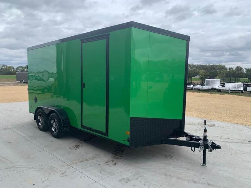 2021 Wells Cargo 7' x 16' x 7' Road Force Wedge Front UTV PKG Enclosed Cargo Trailer