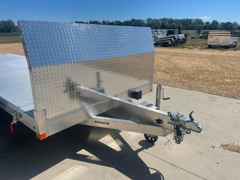 """2022 Bear Track 81"""" X 20' 10K All Aluminum Tiltbed Car Hauler"""