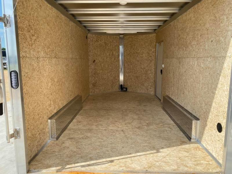 "2021 CargoPro 7.5' x 14' x 6'10"" Stealth Extra Tall Aluminum Cargo Enclosed Trailer w/ Ramp Door"