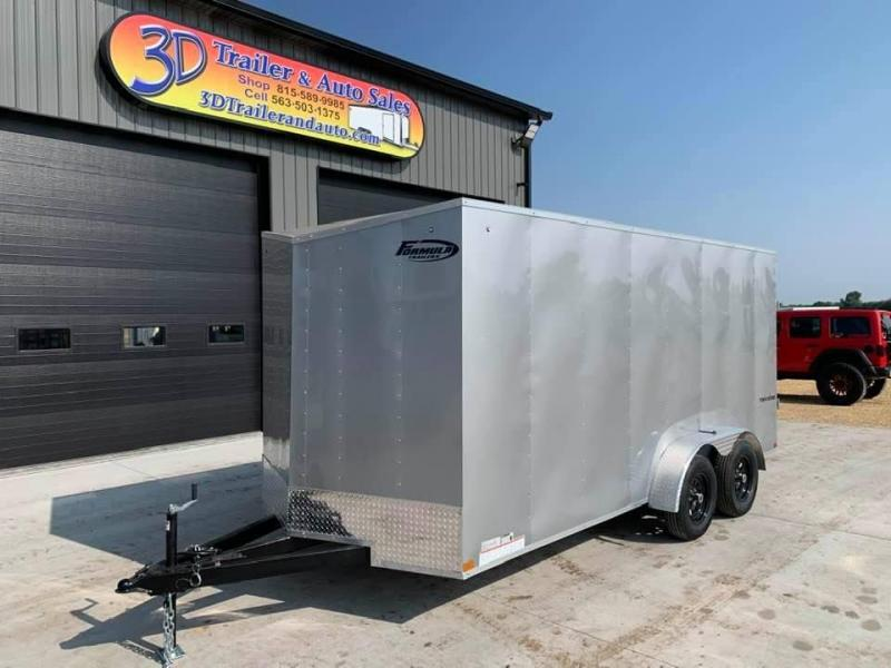 2021 Formula Trailers 7' X 16' X 6'6 Traverse Enclosed Cargo Trailer