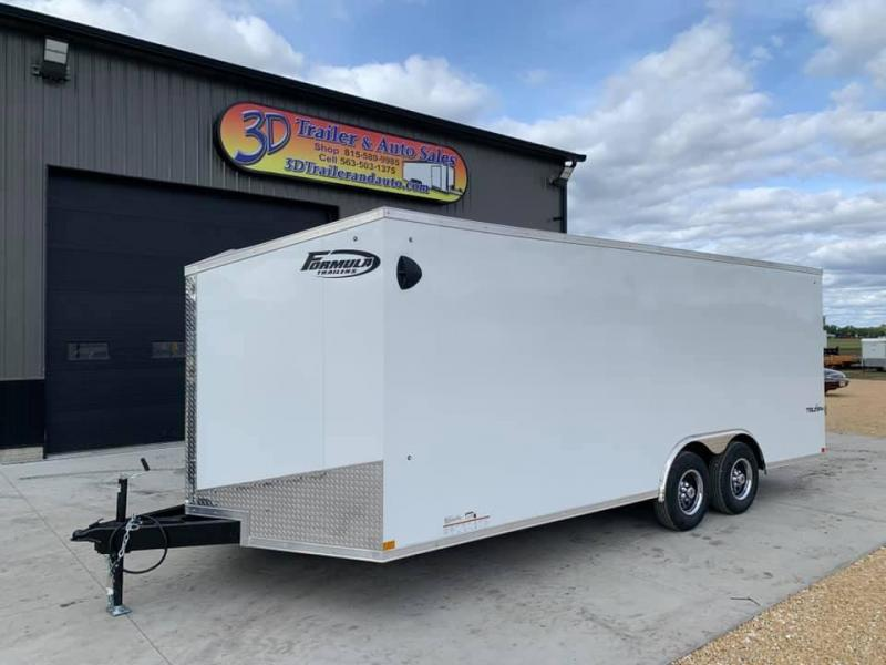 2021 Formula 8.5' x 20' x 6'6 10k Triumph Enclosed