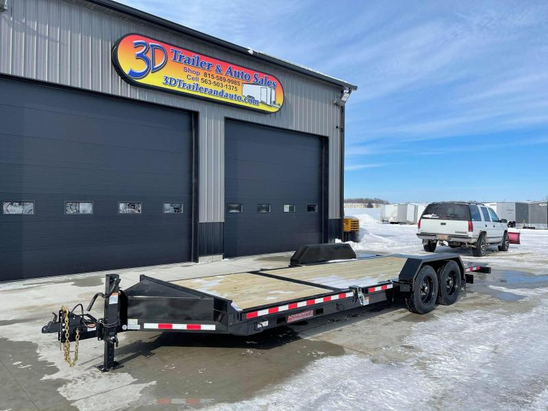 2021 Midsota TB 22' 17600LB GVWR Tilt Bed Equipment Trailer