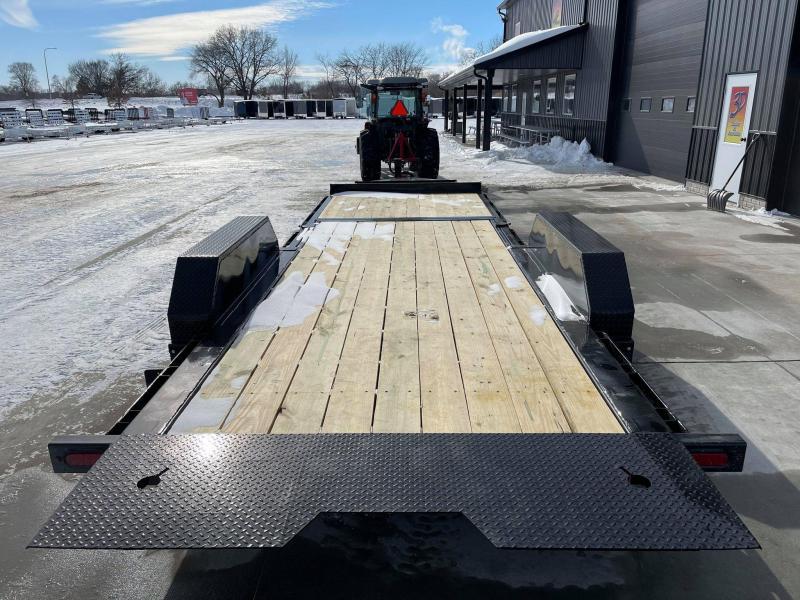 2021 Midsota TB 22' 17600LB GVWR Tilt Bed Equipment Trailer