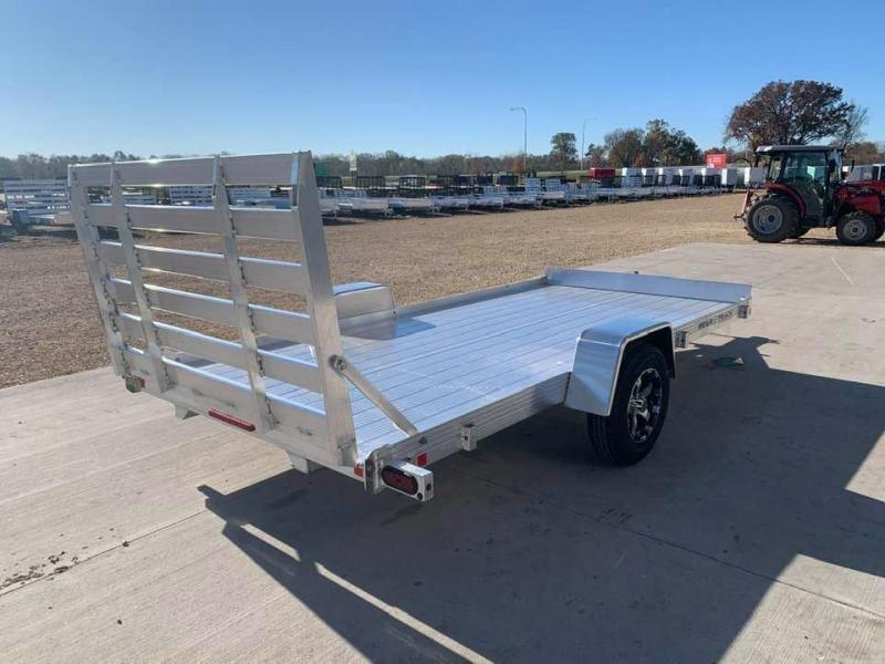 2021 Bear Track 80 X 14 All Aluminum Utility Trailer w/ Straight Gate