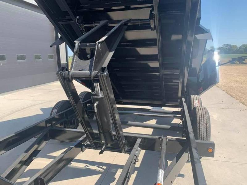 """2022 B-B 83"""" X 14' 14k Heavy Duty Dump Trailer"""